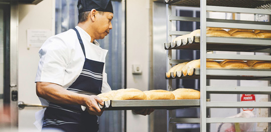 Bread Baked daily