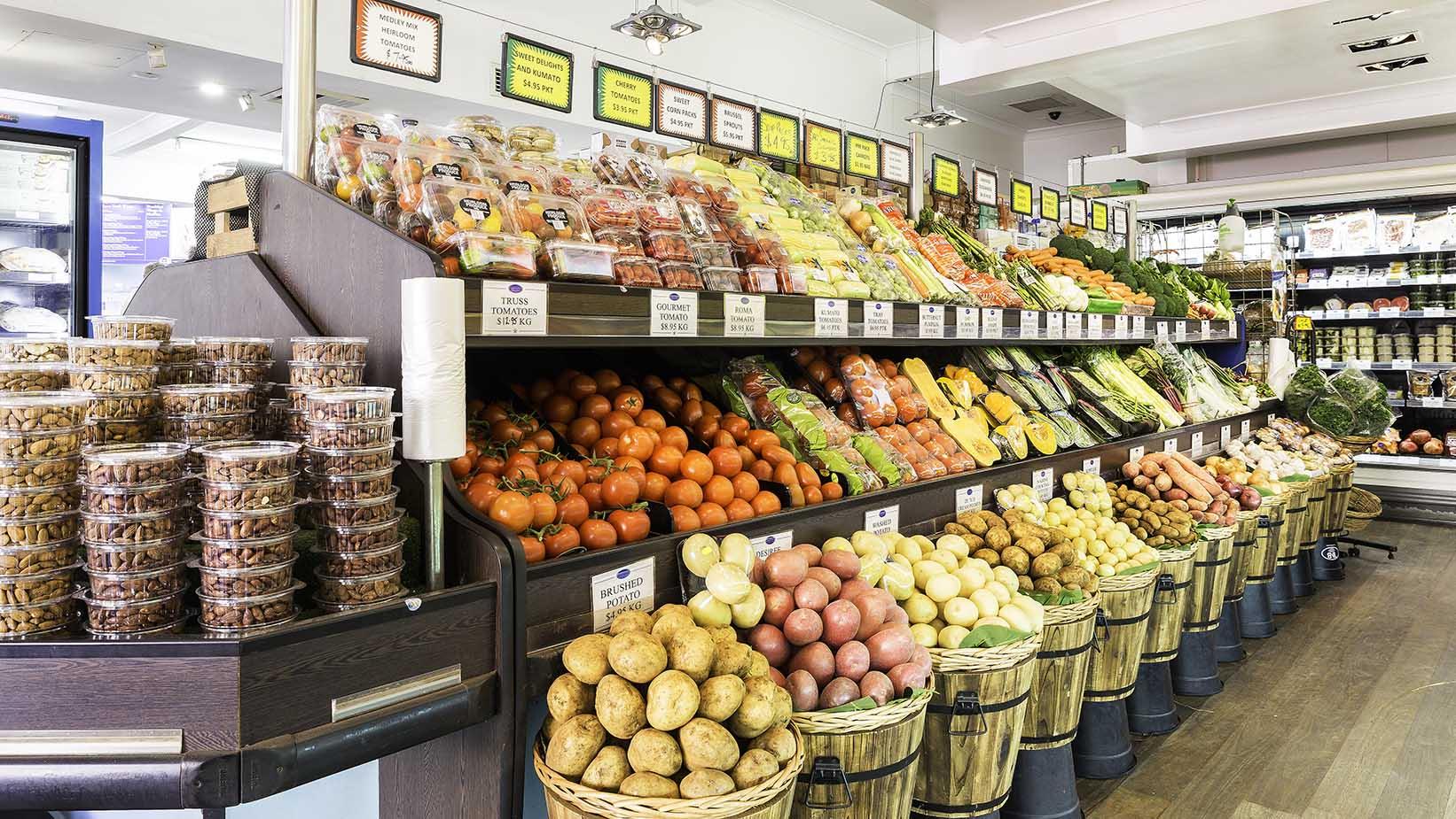 Fruit and Vegetable market - Paddington