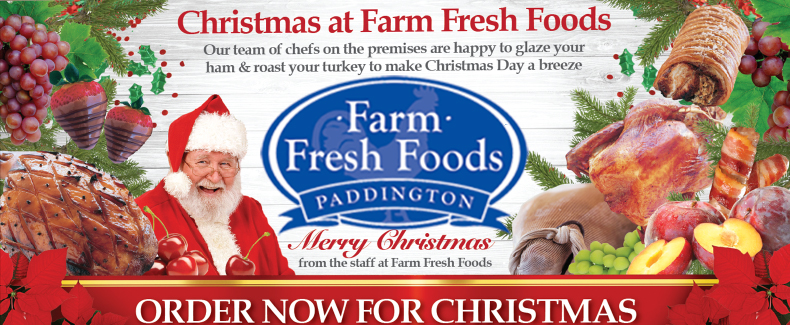 Paddington Farm Fresh Foods christmas 2019