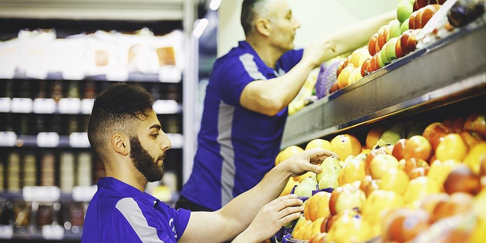 freshly stocked fruit & veg - your local greengrocer in paddington