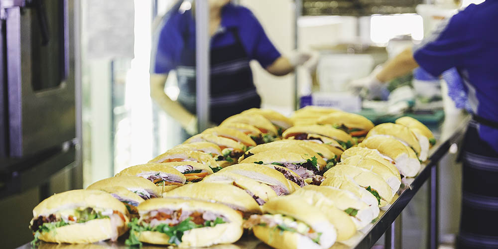 Freshly made rolls and sandwiches - Paddington NSW