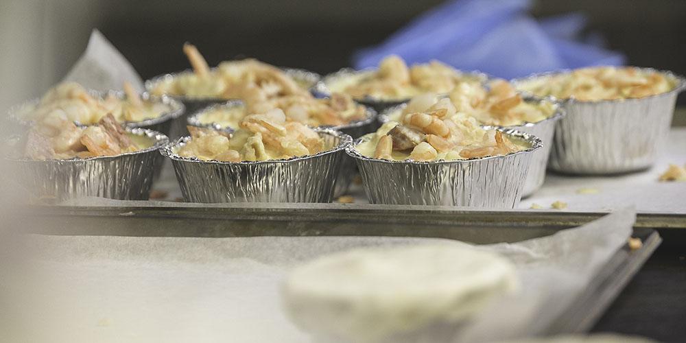 seafood pies freshly made - Paddington NSW